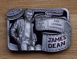 "Artiesten buckle  "" James Dean "" The legend """