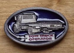 "Verzamel buckle auto  "" Tow Trucker operator ""  Takelwagen"
