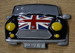 "Verzamel buckle  "" Mini Auto British """