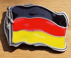 """Gesp voor riem  """" Duitse vlag """""""