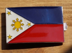 """Gesp voor riem  """" Philippines vlag """""""