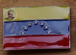 """Gesp voor riem  """" Venezuela vlag """""""