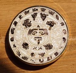 "Riemgesp  "" Aztec calendar """