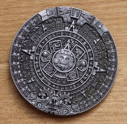 "Losse siergesp  "" Aztec calendar """