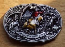 "Western buckle  "" Championship rodeo ""  UITVERKOCHT"
