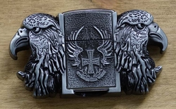 "Belt buckle with lighter "" Adelaars """
