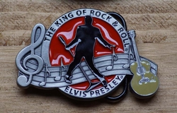 "Elvis gesp  "" The King of Rock & Roll  Elvis """