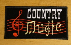 "Strijkapplicatie  "" Country music """