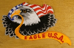 "Strijkapplicatie  "" Eagle U.S.A """