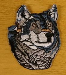 """Strijk applicatie  """" Wolf """""""