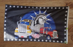"Gevelvlag  "" Trucks met liberty building """