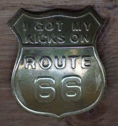 """Pin / speldje  """" Route 66 """""""