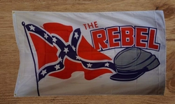 "Gevelvlag  "" The rebel """