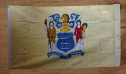 "Amerikaanse Staten vlag  "" New Jersey """