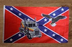 """Rebelvlag  """" Vrachtwagen + adelaar """""""