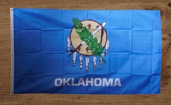"""Amerikaanse Staten gevelvlag  """" Oklahoma """""""