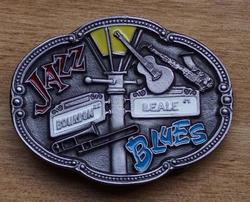 """Muziek gesp  """" Jazz blues"""""""