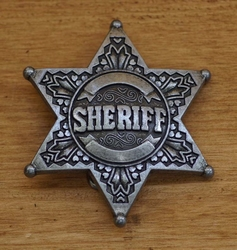 """Losse gesp  """" Sheriff ster """""""