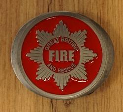 """Losse gesp  """" American fire fighters  """"  ( Brandweerman )"""