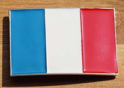 """Vlaggen buckle  """"  Frankrijk  """""""