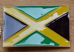 "Vlaggen gesp  ""  Jamaica  """