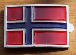 """Vlaggen gesp  """"  Noorwegen  """""""