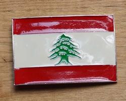 """Vlaggen gesp  """"  Libanon  """""""