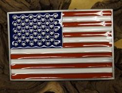 "Vlaggen gesp  ""  Americaanse vlag  """