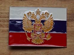 """Buckle """" Vlag van Rusland 1914 - 1917 """" Tsaar Nicolaas II"""