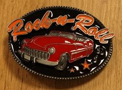 """Muziek gesp  """" Rock 'n Roll,  Still going strong """""""