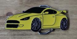 "Verzamel buckle  "" Gele sportauto """