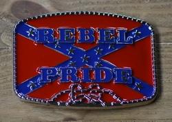 """Buckle / gesp  """" Rebel Pride """""""