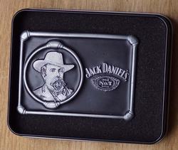 """Jack Daniels buckle  """" Met hoofd van Jack Daniels """""""