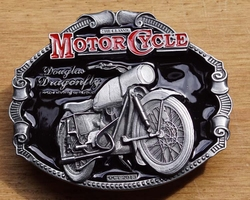 "Motor cycle buckle  "" Douglas Dragonfly """