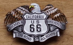 "Siergesp  "" California US 66  ""  Adelaar"