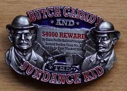 "Western buckle  "" Butch cassidy and sun dance kid  """