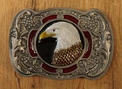 """Siergesp """" Vliegende adelaar """" Zilverkleurig"""