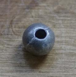 """Metalen kraal """" 0,5 cm """" Zilver kleurig"""