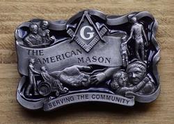 "Losse gesp  "" The American Mason """