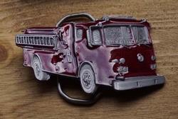 """Beroep buckle  """" Brandweerwagen """""""