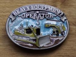 "Beroep buckle  "" Heavy Equipment operator """