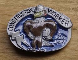 "Losse gesp  "" Construction worker """