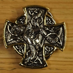 "Belt buckle  "" Engelish cross """