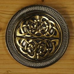"Belt buckle  "" Celtic knot in two part ""  UITVERKOCHT"