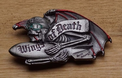"Buckle / gesp  "" Wings of Death """