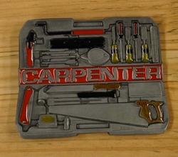 """Buckle  """" Carpenter """"  ( Timmerman )"""