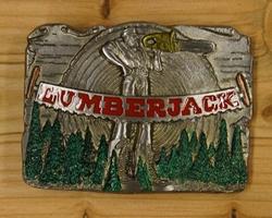 """Buckle  """" Lumberjack """"  ( Houthakker )   UITVERKOCHT"""