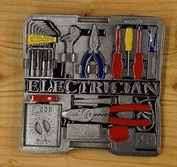 """Buckle  """" Electrician """"  ( Elektricien )"""