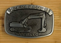 """Buckle / gesp  """" Excavator opertor """""""