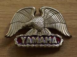 """Buckle / gesp  """" Yamaha """"  Adelaar"""